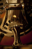 Detail of musical instrument — Stock Photo