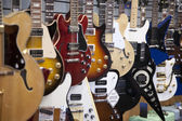 Electric guitars — Stock Photo