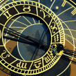 Detail of old prague astronomical clock — Stock Photo