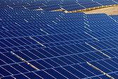 Modern eco photovoltaic power plant — Stock Photo