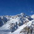 Stock Photo: Western himalayrange in India
