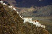 Karsha monastery in Zanskar range ,northern Himalayas — Stock Photo