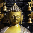 Buddha and the bells — Stock Photo #24122129