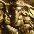 Small statue of ganesha — Stock Photo