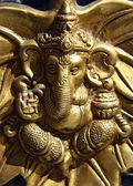 Small statue of ganesha — Stock Photo