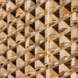 Stock Photo: Structure and texture of wooden pallets in stock