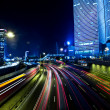 Tel aviv skyline - Night city - Foto de Stock