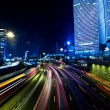 Tel aviv skyline - Night city - Stock Photo