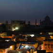 Agra night view — Stock Photo