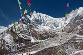 Langtang Lirung — Stock Photo