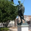 Monument to Emperor Augustus — Stock Photo
