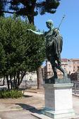 Monument to Emperor Augustus — Stock Photo