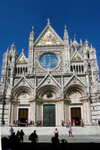 Cathedral in Sienna — 图库照片