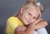 красивая девочка — Стоковое фото