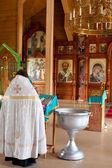 Ortodoks kilisesi rahip — Stok fotoğraf