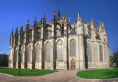 Catedral de santa bárbara, kutná hora — Foto de Stock