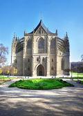 Catedral de santa bárbara em kutna hora, república checa — Fotografia Stock