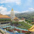 Buddhist temple Kek Lok Si in Malaysia, Georgetown — Stock Photo #23697455
