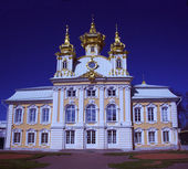 Church in Peterhof, Tsarskoye Selo — Stock Photo