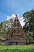 Traditional Batak house — Stock Photo