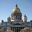 St. Isaac's Cathedral in St. Petersburg — Stock Photo
