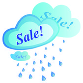 Sales tag — Stock Vector