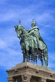 Monument to St. Istvan in Budapest — Stock Photo