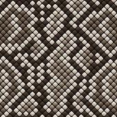 Snakeskin seamless pattern - vector illustration — Stock Vector