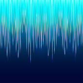 Aurora boreal abstact — Vector de stock