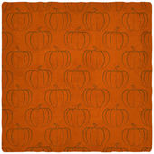 Old background with pumpkins seamless pattern — Stock Vector