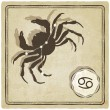 Astrological sign - cancer — Vecteur #38298295