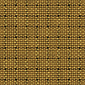 Golden weave seamless background — Stock Vector