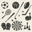 Sport icons set — Stock Vector #41996989