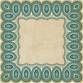 Retro border pattern old background — Vecteur