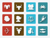Astrological signs set — Stockvector