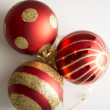 Stock Photo: Cristmas decoration - red balls