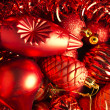 Royalty-Free Stock Photo: Cristmas decoration all in red