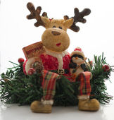Christmas toy - Deer — Stock Photo