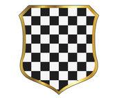 Vector checkered background. EPS10 illustration — Stock vektor