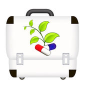 First aid box icon — Stock Vector