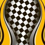 Vector checkered background. EPS10 illustration — Stock Vector