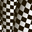 Vector checkered  background. EPS10 illustration — Vettoriali Stock