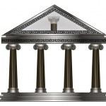 Roman, Greek Temple. eps10 vector illustration — Stock Vector #25530065