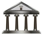 Roman, Greek Temple. eps10 vector illustration — Stock Vector