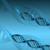 DNA molecule structure background. eps10 vector illustration — Stock Vector