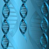 DNA molecule structure background. eps10 vector illustration — Stockvektor
