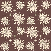 Floral seamless pattern. texture can be used for all type textures, wallpaper, web page background. eps10 format vector illustration — Stock Vector