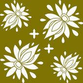 Nahtlose Blümchenmuster. Textur kann für alle Typ-Texturen, Wallpaper, Hintergrund Webseite verwendet werden. eps10-Format-Vektor-illustration — Stockvektor