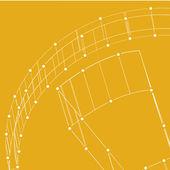 Abstraktní technologie lemované pozadí šablony pro web design. eps10 textury vektorové ilustrace — Stock vektor