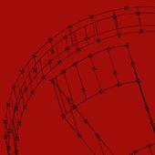 Tecnologia astratta foderato sfondo modello per il web design. illustrazione vettoriale di eps10 trama — Vettoriale Stock
